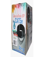 CABO DE REDE CAT5E UTP CMX 4 PARES COBRE 2FLEX