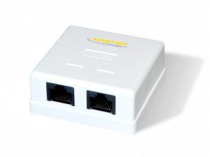 CAIXA DE SOBREPOR PARA 2 KEYSTONE MASTER CONNECT