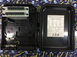 CAIXA DE TERMINAÇÃO OPTICA (CTO) EASY4LINK 1X16 APC SPLITTER BOX