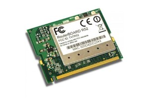 MIKROTIK/CARTAO MINI-PCI R52 100MW