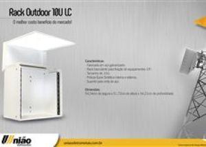 UNIÃO - RACK OUTDOOR LC 10U (L53 X A52 X P31CM)
