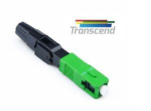 CONECTOR MECANICO FAST CRIMP SC/APC TRANSCEND