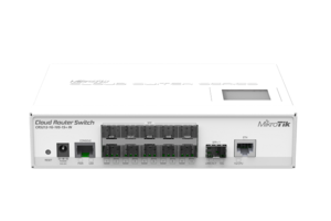 MIKROTIK RB/CLOUD ROUTER SWITCH CRS212-1G 10S 1S+