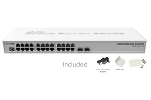 MIKROTIK RB/CLOUD ROUTER SWITCH CRS326-24G 2S+ RM