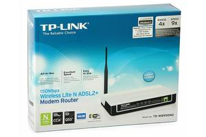 MODEM ADSL2 ROUTER+WIRELESS TP-LINK TD-W8950N