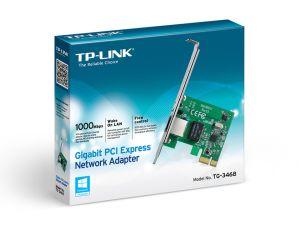 PLACA DE REDE TP-LINK PCI-E GIGABIT TG3468