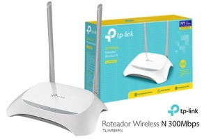 ROTEADOR TP-LINK ROUNTER TL-WR849N 300MBPS 2 ANTENAS