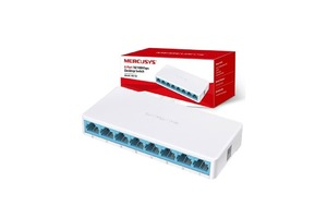 SWITCH MERCUSYS MS108 8 PORTAS 10/100