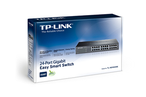 SWITCH TP-LINK 24P GIGABIT TL-SG1024DE INTELIGENTE