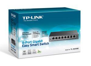 SWITCH TP-LINK 8 PORTAS GIGA TL-SG108E