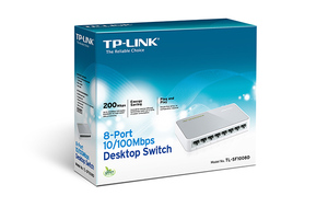 SWITCH TP-LINK SF1008D 8P 10/100