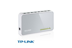 SWITCH TP-LINK SF1008DV 8P 10/100 VLAN