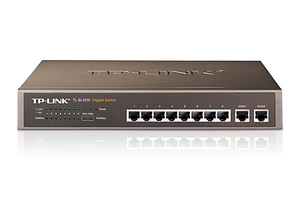 SWITCH TP-LINK TL-SL1210 8P FAST 2P GIGA