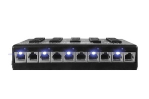 VOLT-PATCH PANEL GIGABIT POE-05P 12/24V