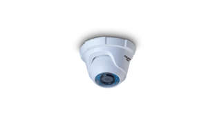 CAMERA AQUARIO CD-3620-2P DOME PLASTICA 3.6MM IR20 2MB