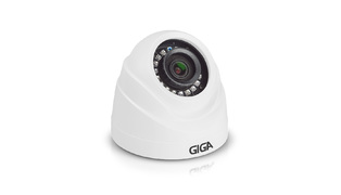 CAMERA GIGA DOME PLAST 2.6MM 1/4 IR 20 METROS GS0019 IP66
