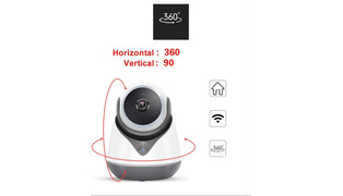 CAMERA IP ROBO ONVIF/P2P WIFI DE MESA