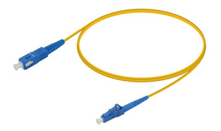 CORDAO OPTICO LC/UPC SC/UPC SM SX 3MM 2,5M OEM