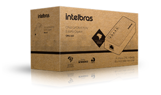 INTELBRAS - ONU HIBRIDA 110 GPON/EPON 1P GIGA