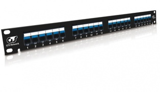 PATCH PANEL FAST TRACK 24P CAT5E GTS