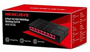 SWITCH MERCUSYS MS108G 8P 10/100/1000 GIGABIT